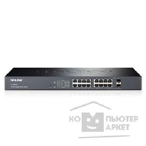 Сетевое оборудование Tp-link TL-SG2216 16-port Pure-Gigabit Smart Switch, 16 10/ 100/ 1000Mbps RJ45 ports including 2 combo SFP slots, Tag-based VLAN, STP/ RSTP/ MSTP, IGMP V1/ V2/ V3 Snooping, 802.1P Qos, Rate Limiting, Port