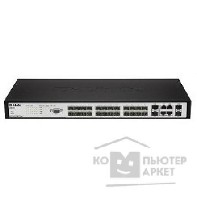 Сетевое оборудование D-Link DES-3200-26/ A1A 24-Port 10/ 100Mbps+ 2 Combo 1000BASE-T/ SFP L2 Management Switch