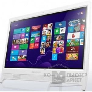 "Моноблок Lenovo IdeaCentre C260 [57331400] white 19.5"" HD+ Cel J1800/ 4Gb/ 500Gb/ DVDRW/ W8.1/ k+m"