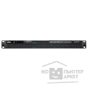 "Сервер Lenovo ThinkServer RS140 ThinkServer RS140 w/ 2 x 3.5"" Bays, Core i3-4150, 1 x 4Gb ECC UDIMM, RAID100 0/ 1/ 5/ 10 w/ No Cache, No HDD, Slim DVD-RW, 1GbE 2-port Onboard and 1GbE for Mgmt, No TPM, No Intru"
