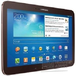 "Планшетный компьютер Samsung Galaxy Tab3 P5200 16Gb 10.1"" 3G Atom 1.6Ghz/ 1G/ 16G/ 10.1"" 1280*800/ WiFi/ 3G/ BT/ 2cam/ Pen/ Android 4.2/ Gold-Brown GNL"