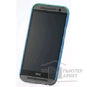 Htc Чехол для  M8 Double Dip Hard Shell HC C940  blue body, green top, grey bottom