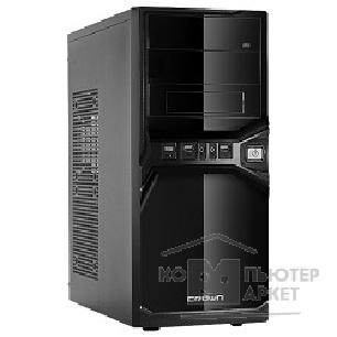 Корпус Crown Корпус Miditower CMC-SM600 black/ silver ATX CM-PS500w smart
