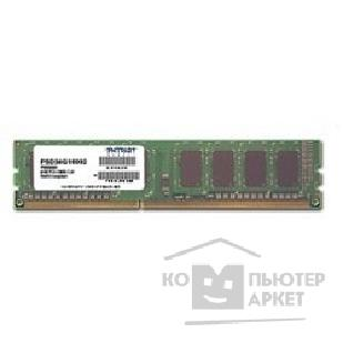 ������ ������ Patriot DDR3 DIMM 4GB PC3-12800 1600MHz PSD34G160081