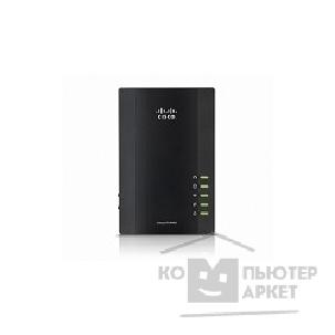Сетевое оборудование Linksys PLWK400-EU Беспроводной Powerline адаптер Powerline 4-port Kit 1-port Fast Ethernet + 4-port Fast Ethernet