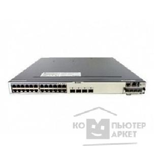 Коммутаторы, Маршрутизаторы Huawei S5700-28C-SI 24 Ethernet 10/ 100/ 1000 ports,4 of which are dual-purpose 10/ 100/ 1000 or SFP,with 1 interface slot,without power module
