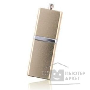 Носитель информации Silicon Power USB 2.0  USB Drive 1Gb, Luxmini 710 [SP001GBUF2710V1G], Gold