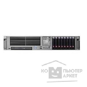 Сервер Hp 458563-421 DL380G5 Xeon E5440 2.83GHz QC/ 2GB PC2-5300/ P400/ 256MB/ Dual NC373i/ noHDD/ 1000W/ 2U