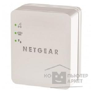 Сетевое оборудование Netgear WN1000RP-100PES Universal Wireless-N 150 Mbps Repeater No LAN in a small housing for direct connection to power outlet