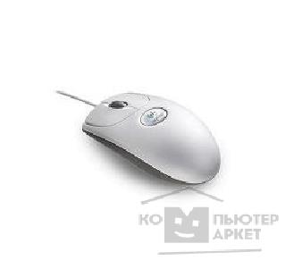 Мышь Logitech BD/ BJ/ BT-58 930994  Wheel Mouse Optical серые USB+PS/ 2, OEM
