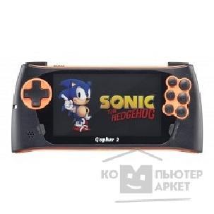 "Sega Игровые приставки Genesis Gopher 2 LCD 4.3"", +500 игр оранжевая ConSkDn50 ConSkDn50"