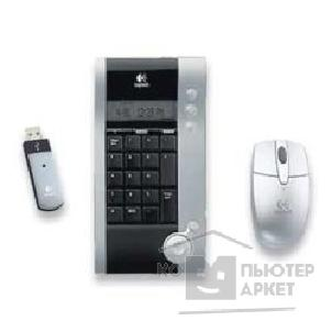 Клавиатура Logitech 967538  Cordless V250 Mouse/ Number Pad for NBs, USB опт.мышь+калькулятор RTL