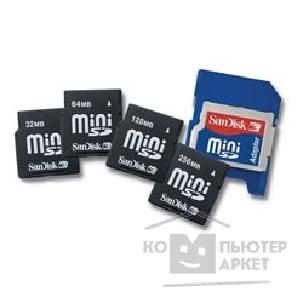 Карта памяти  SanDisk Mini SecureDigital 256MB   Mini SD Memory Card