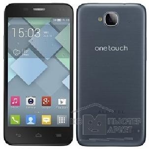 "Мобильный телефон Alcatel  IDOL MINI 6012X Slate Dark Grey / 1 sim/ Android/ 2x1300MHz/ IPS/ 4.3""/ 480x854/ 5.0mpx/ 4GB/ microS"