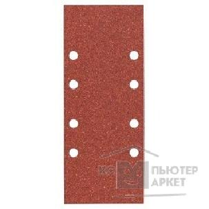 Bosch Bosch 2608605227 10 шлифлистов 93Х230 К80 Best for Wood+Paint 8 отв.