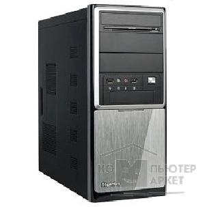 Корпус SuperPower MidiTower QoRi-3337 A2 черно-серый  350W USB/ Audio/ SATA ATX front panel metall