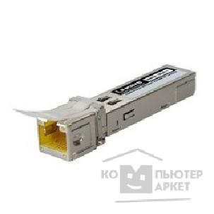 Сетевое оборудование Cisco SB Linksys MGBT1 Трансивер Gigabit Ethernet 1000 Base-T Mini-GBIC SFP