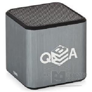 Плеер 3Q / SP-101BT v2 Grey/ QUBA MP3 Player micro SD/ Bluetooth Speaker with battery, card reader function support / Grey/ crystal box [71220]