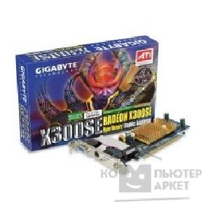 Видеокарта Gigabyte GV-RX30HM256DP RH , OEM Radeon x300SEHM, 256Mb DDR, DVI, TV-out  PCI-E