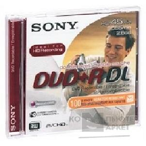 Диск Verbatim DPR55A/ S Диски DVD+R Sony 2.6GB, 8см, Double Layer