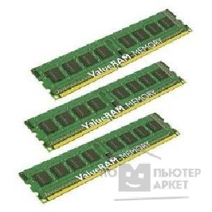 Модуль памяти Kingston DDR-III 6GB PC3-10600 1333MHz Kit 3 x 2GB  [KVR1333D3N9K3/ 6G]