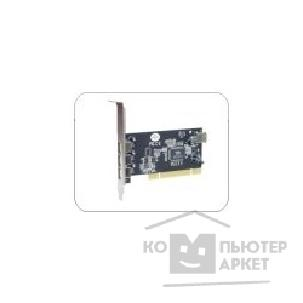 Контроллер STLab U163 Via USB 2.0 PCI Card 3+1 Ports RTL