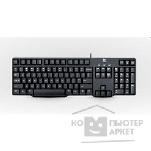 Клавиатура Logitech 920-003200  Keyboard K100 Black PS/ 2