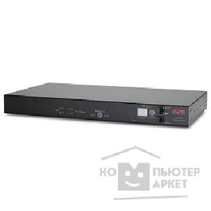 Аксессуары APC by Schneider Electric APC AP7723 RACK ATS, 230V, 16A, C20 IN, 8 C13 1 C19 OUT