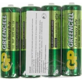 ��������� Gp Greencell 15G � ������ R6, 4 �� AA 4��. � ��-�� R6/ 4SH Greencell