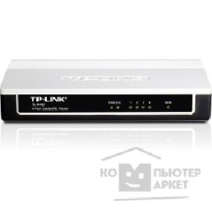 Сетевое оборудование Tp-link TL-R460 Роутер 4-port Cable/ DSL Router, Dial-on-demand, Advanced firewall