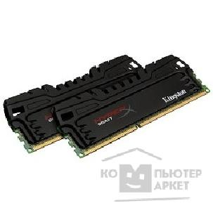 Модуль памяти Kingston DDR3 DIMM 8GB PC3-19200 2400MHz Kit 2 x 4GB  KHX24C11T3K2/ 8X HyperX CL11 XMP Beast Series