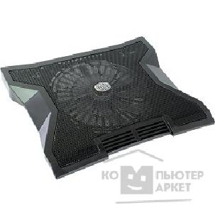 "Аксессуар к ноутбуку Cooler Master R9-NBC-NXLK-GP Laptop Cooling NotePal XL Black 17"", 1x 230x230-Blue LED , fan speed control, metal mesh, 3xUSB, 2 types height adjustable"
