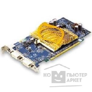 Видеокарта Gigabyte GV-NX66T256D, OEM GF 6600GT, 256Mb DDR, TV-out, DVI  PCI-E