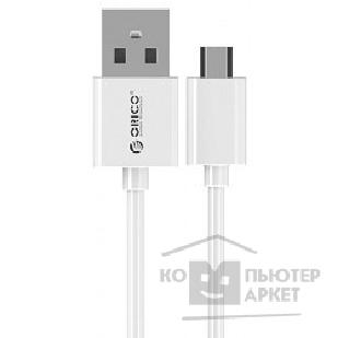 Кабель Orico  ADC-08-WH Кабель USB2.0 A male to MicroUSB 2.0 0.8m ADC-08 белый
