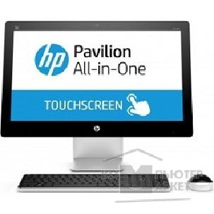 "Моноблок Hp Pavilion 23-q010ur 23"" Full HD Touch i3 4150T/ 4Gb/ 1TbR7 360 4Gb/ DVDRW/ Windows 8.1/ клавиатура/ мышь"