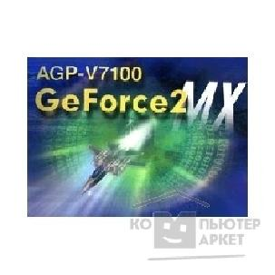 Видеокарта Asus AGP-V7100 32Mb TV-OUT GeForce2 MX , AGP 4X/ 2X, RTL