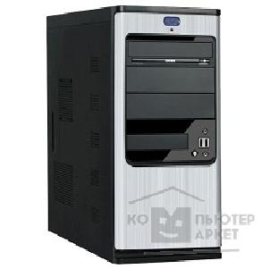 Корпус SuperPower MidiTower SP 6238-A11 500W/ 12CM USB/ micro-ATX/ ATX/ eATX Серебристо-чёрный