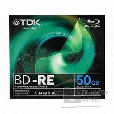 ���� Tdk ���� BD-RE 50 2 Jewel case 5�� Double Layer T19796