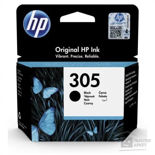 Картридж струйный HP 305 3YM61AE черный (120стр.) для HP DJ 2320/2710/2720/HP 3YM61AE#UUQ 3YM61AE#UUQ