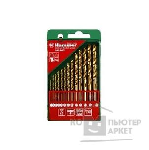 Hammer Набор сверел  Flex 202-903 DR set No3 13pcs 1,5-6,5mm металл, 13шт. [30784]