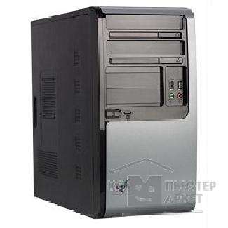 Корпус SuperPower MidiTower SP M101-CA черный  350W  USB/ AU PW 1 24 Pin SATA