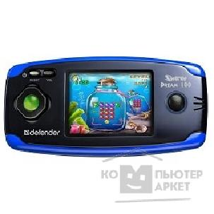 Геймпад Defender [64014] Sharky Dream100, черн+синий 100 в 1, 2.5'' LCD, 16 бит
