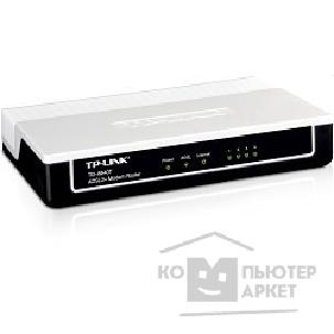 Сетевое оборудование Tp-link TD-8840T Роутер 4 ethernet ports ADSL2+ router, Annex A, with ADSL spliter