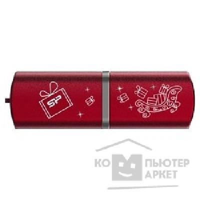 �������� ���������� Silicon Power USB 2.0  USB Drive 8Gb, Luxmini 720 [SP008GBUF2720V1R-LE], Red NY Edition,����������