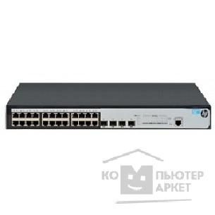 Сетевое оборудование Hp JG924A  1920-24G Switch Web-managed, Limited CLI, 24*10/ 100/ 1000 + 4*SFP, static routing, fanless, rack-mounting, 19""