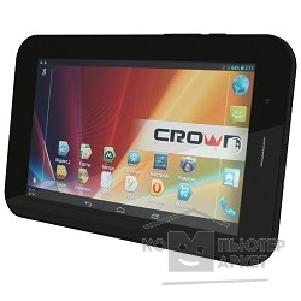 "Crown �������  CM-B777 3G Black,MTK8377 Cortex A9 dual-Core 2� ������� ��������� , 1Gb,8Gb,wifi,Bluetooth4, 3G,SIM*2,Andr4.1, 7"" IPS 1024*600, 2 Cam,������,����� ������,�������� ������,OTG ���."