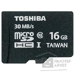 Карта памяти  Toshiba Micro SecureDigital 16Gb  SD-C016UHS1