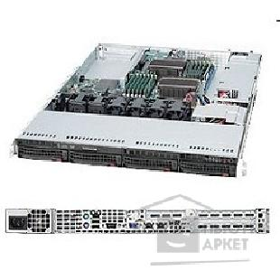 Сервер Supermicro SYS-6016T-NTF SERVER SYSTEM 1U SATA BLACK