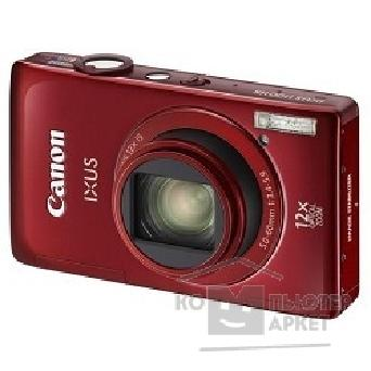 Цифровая фотокамера Canon IXUS 1100 HS red Touch LCD