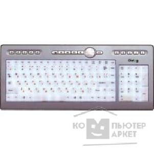 Клавиатура Dialog KF-L1SP, Favourite Keyboard, PS/ 2 Подсветка клавиш, Silver